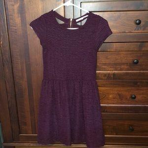 Kimchi Blue Purple Dress W Back Details